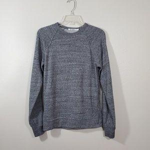 T Alexander Wang Raglan Sweatshirt Heathered Gray